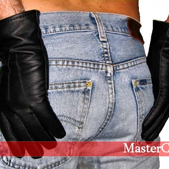 Leather gloves   ( standard )